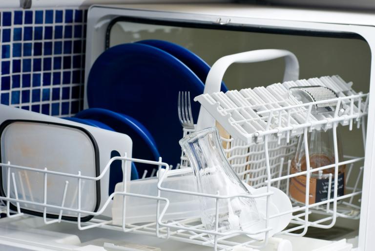 panier de lave vaisselle qui rouille